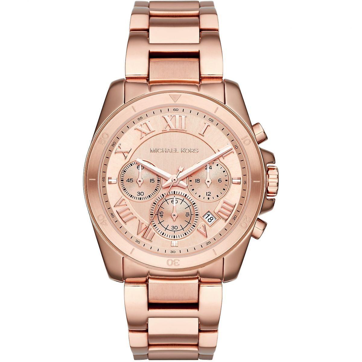 Michael Kors Brecken Mesdames Womens chronographe or Wrist Watch MK6367
