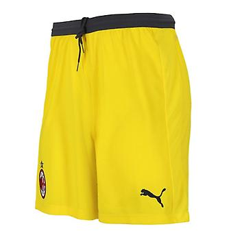 2018-2019 AC Milan hjem keeper Shorts (gul) - barn