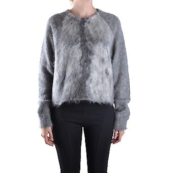 Alexander Wang Ezbc028003 Dames's Grey Wool Sweater