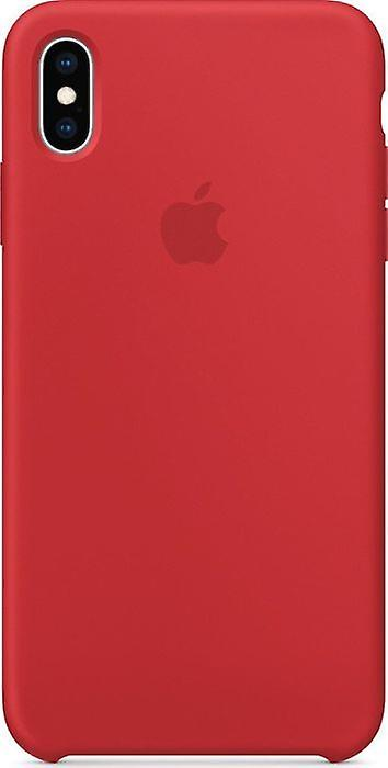Original packaging Apple silicone Micro Fiber cover case for iPhone XS Max - Red