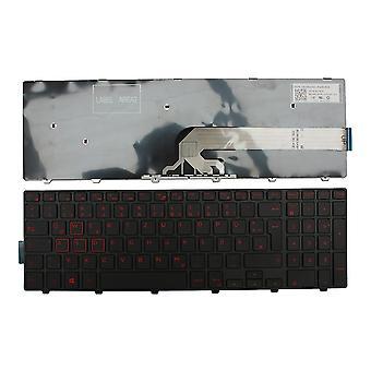 Dell Inspiron 15 7559 ブラック フレーム ブラック Windows 8 ドイツ語のレイアウトの交換ノート パソコンのキーボード