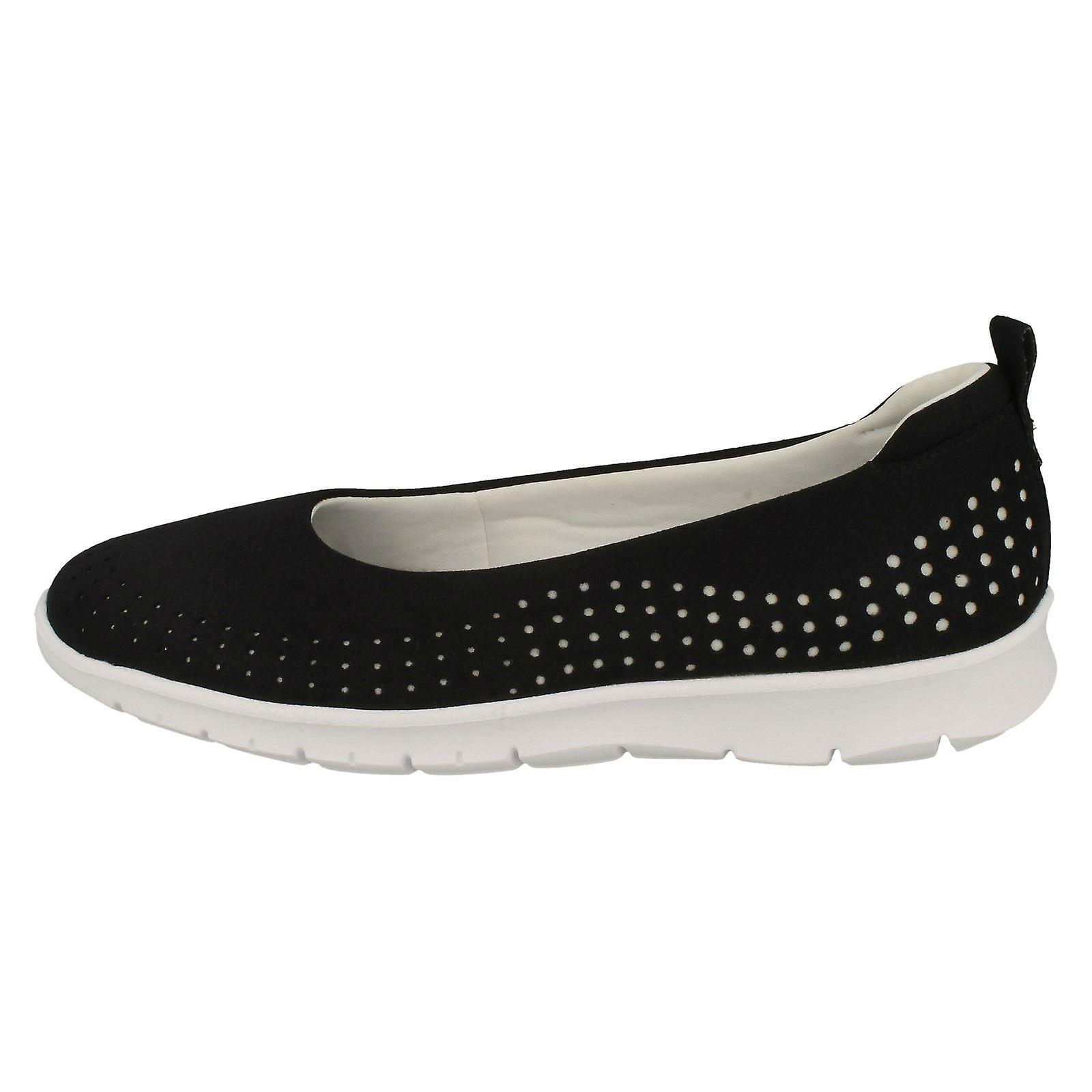 Ladies Cloud Steppers By Clarks Flat Shoes Step Allena Sea