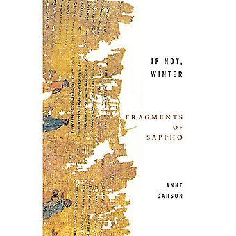 Om inte, vinter: fragment av Sappho