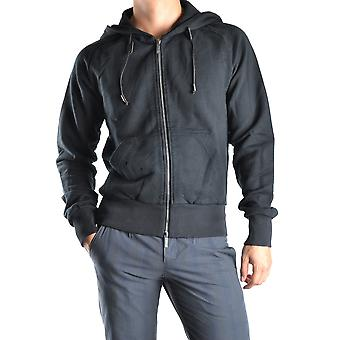 John Galliano Ezbc189016 Men's Black Cotton Sweatshirt