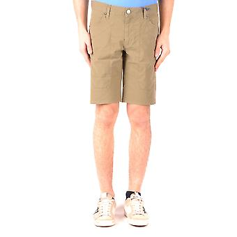 Jeckerson Ezbc069039 Men's Green Cotton Shorts