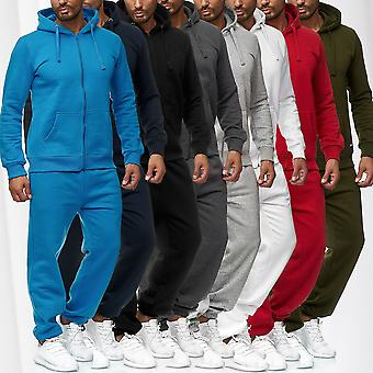 Men's tracksuit Basic sports sweat suit for men 2-piece gym Set Hoodie and pants