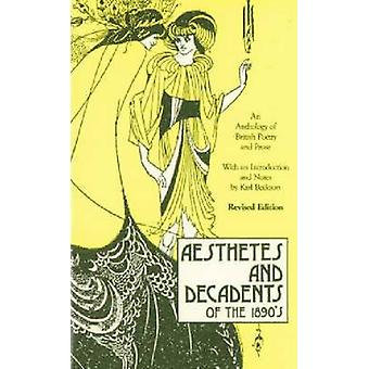 Aesthetes und Dekadents der 1890er Jahre-Anthologie der britischen Poesie an