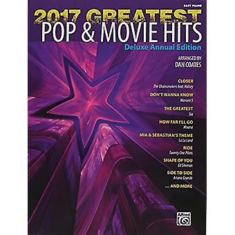 2017 Greatest Pop & Movie Hits - Easy Piano by Dan Coates - 978147