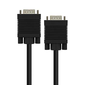 VGA Male to VGA Male Video Adapter Cable 20m Black LinQ
