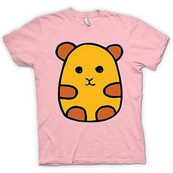 Mens T-Shirts-Cartoon-Hamster-Design