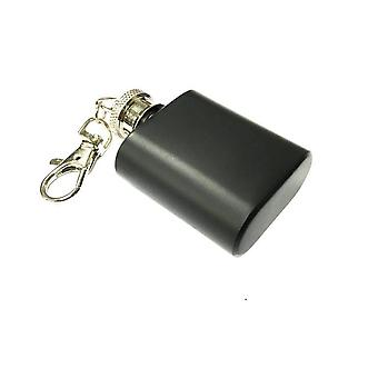 Small black Hip-flask 30ml / 1oz