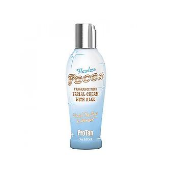 Pro Tan Flawless Faces Fragrance Free Tanning Facial Cream With Aloe Vera - 59ml