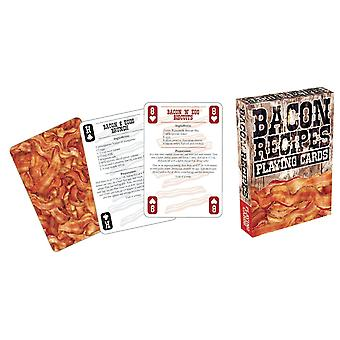 Playing Card - Bacon - Recipes #2 Poker Licensed Gifts Toys 52241
