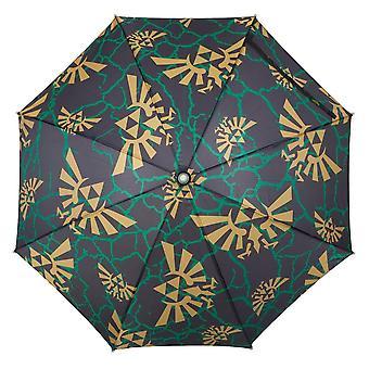 Umbrella - Zelda - All Over Print Logos LED New um62g5ntn