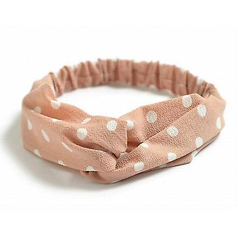 Elastically hairband/Headband with knot