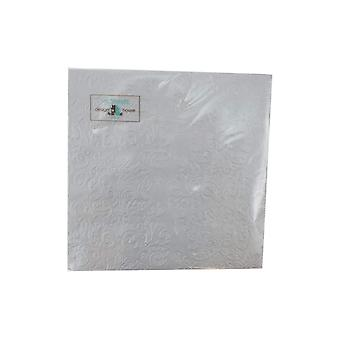 Napkins Silver metal 2-pack 33x33 cm 20-pack