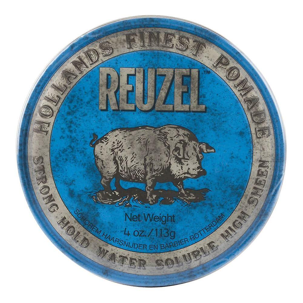 Reuzel Blue Pomade Strong Hold Water Soluble High Sheen 113g