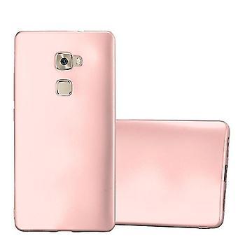 Cadorabo Hülle für Huawei MATE S Case Cover - Handyhülle aus flexiblem TPU Silikon – Silikonhülle Schutzhülle Ultra Slim Soft Back Cover Case Bumper