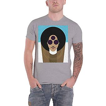 Prince T Shirt Official Age Art Logo new Official Mens Grey