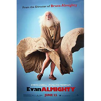 Poster del cinema originale di Evan Onmighty (Single Sided Regular)