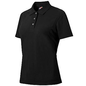 Dickies Womens Fitted Polycotton Short Sleeve Polo Shirt