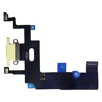 Dock Charger Ladebuchse für Apple iPhone XR 6.1 Zoll Gelb Ersatzteil Ersatz Reparatur Zubehör