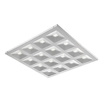Saxby Beleuchtung Deyes Integrierte LED Einbauleuchte Matt Weiß, Klar 78547