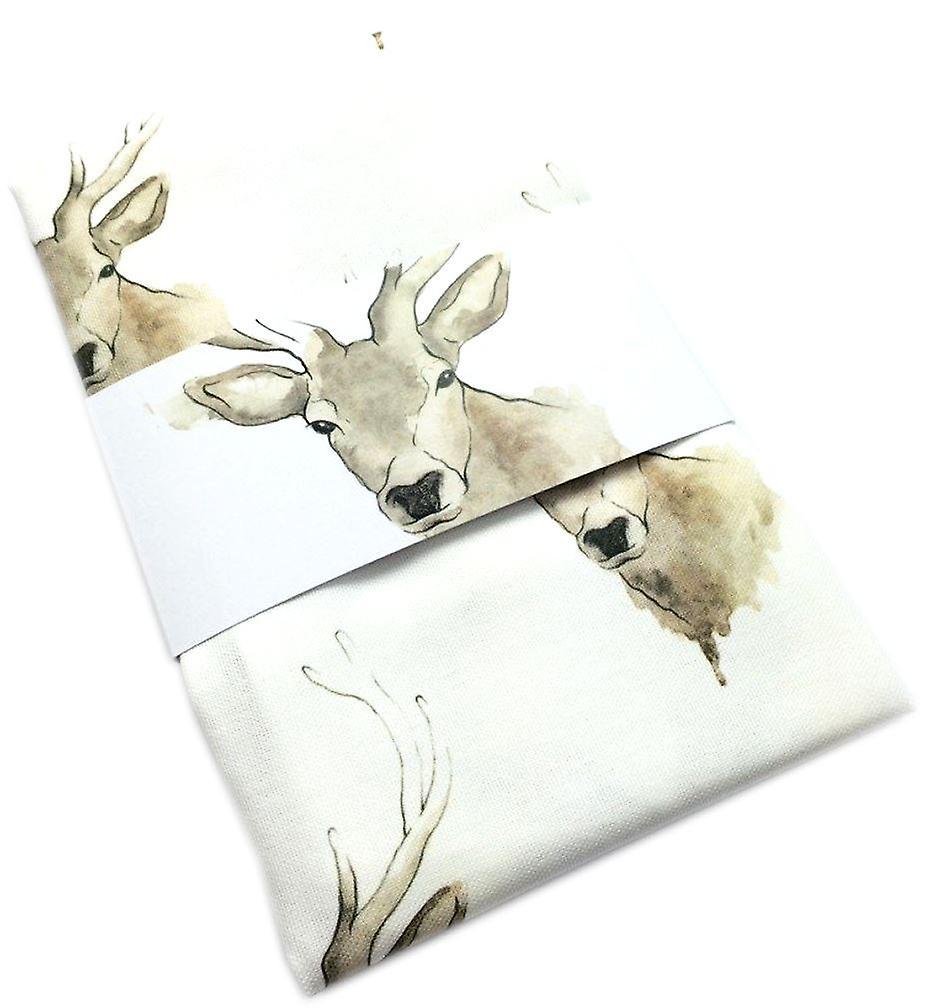 Clare Baird Highland Collection - Highland Stag Tea Towel