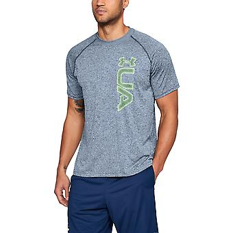 Under Armour Mens UA Tech Graphic SS Anti-Odor Tee T-Shirt