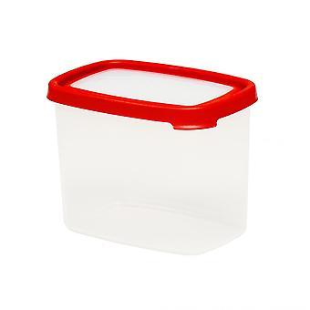 Wham Storage 6.03 Seal It 2.14 Litre Tall Rectangular Airtight Plastic Food Box