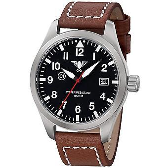 KHS militair horloge KHS. Airs. LB5 Airleader 46mm 10ATM