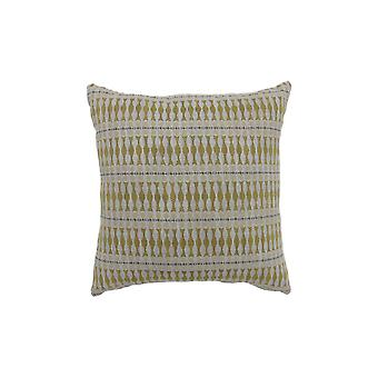 Contemporary Style Simple Traditionally Designed Set of 2 Throw Pillows, Yellow