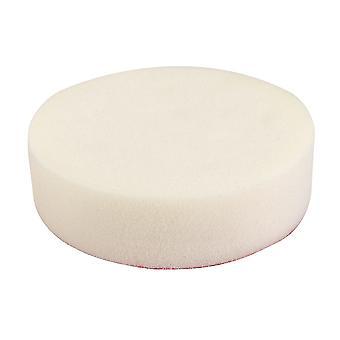 Haak en lus Foam polijsten hoofd-150mm Firm wit