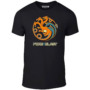 Men's fire and blast t-shirt