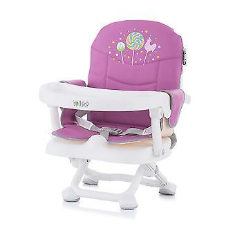 Cadeira infantil Chipolino assento Lollipop aumentar mesa de assento de reforço removível dobrável