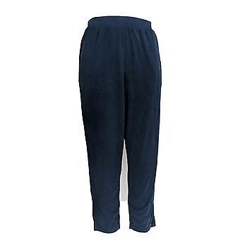 H di Halston Women's Pantaloni spazzolati modali pull-on blu A305401