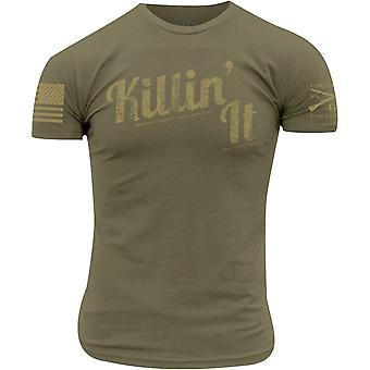 Grunt Style Killin' It T-Shirt - Verde Militar