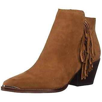 Dolce Vita Women's SEMA Ankle Boot, Brown Suede, 8 M US