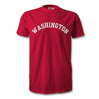 Universidad de Washington estilo camiseta
