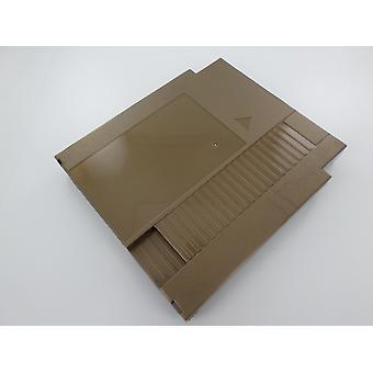 Cartridge shell for nes nintendo compatible game case replacement - gold | zedlabz