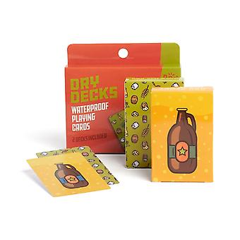 NOD Products Dry Deck Playing Cards (Beer)
