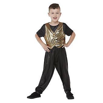 Boys 80s Hammer Time Fancy Dress Costume