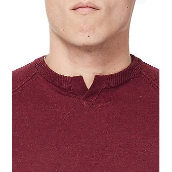 Good Man Brand Men's Extrafine Merino MVP V-Notch Sweater, Wine, XL