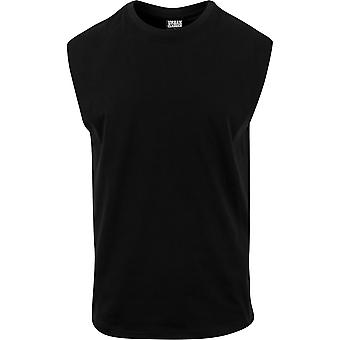 Urban Classics Men's T-Shirt Open Edge Sleeveless