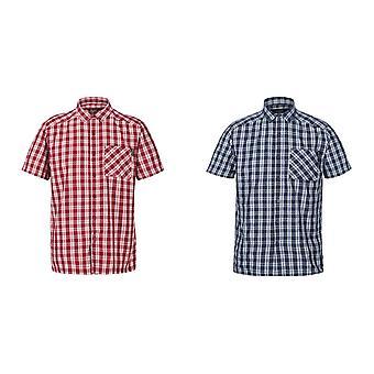 Regatta Miesten Mindano V Lyhythihainen ruudullinen paita