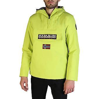 Napapijri Original Men Fall/Winter Jacket - Green Color 35931