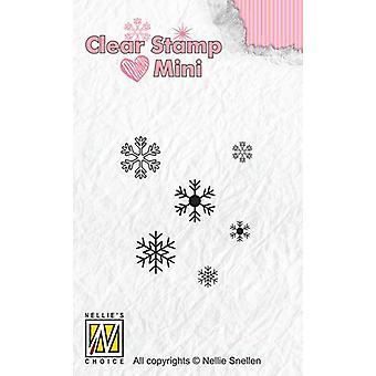 نيلي & أبوس؛ق اختيار ميني طوابع واضحة الثلج MAFS011