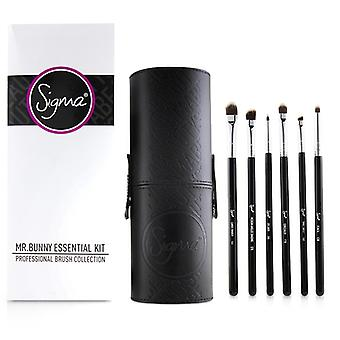 Sigma Beauty Mr. Bunny Essential Kit Professional Brush Collection - # Black - 13pcs
