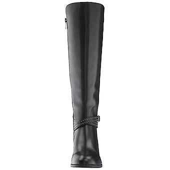Bandolino Womens Bryices Leather Closed Toe Knee High Fashion Boots