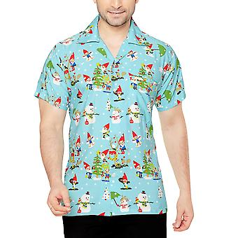 Club cubana men's regular fit classic short sleeve casual shirt ccx46